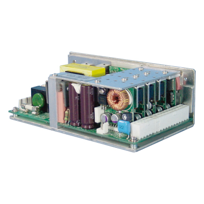 Fanless PC Power Supply with +24V Output equipped
