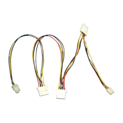+12V 4-pin Peripheral Connector Harness