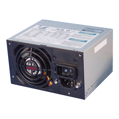 Computer Power Supply with Resin Panel (With 24-pin main and S-ATA connector)