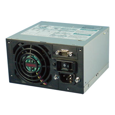 CCC compliant, 450W nonstop power supply with life expectancy 10 years at 45 deg C
