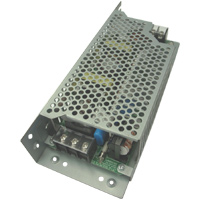 Single output power supply with +12V/+15V selectable voltage (Block terminal type with chassis and cover)