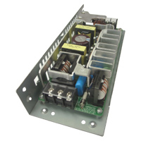 Single output power supply with +12V/+15V selectable voltage (Block terminal type with chassis)