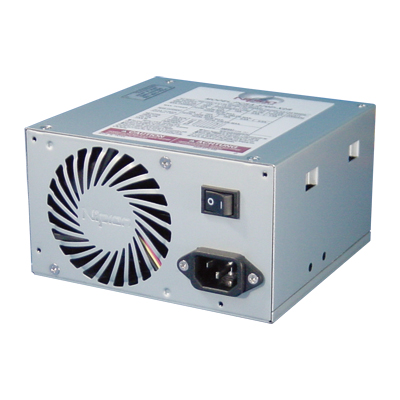 370W-class, Highly economical ATX power supply (24Pin/12V 8Pin/Processor)