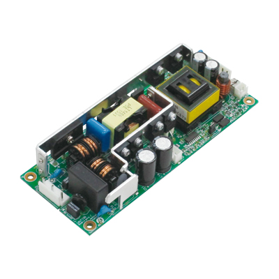 IEC60601-1(3rd,MOOP) approved. Switching power supply with minimized noise and heat (24V output Ultra High Efficiency type with optional connector)