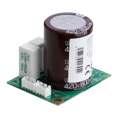 A trouble concerning a countermeasure against instantaneous power failure is solved! Capacitor backup unit.